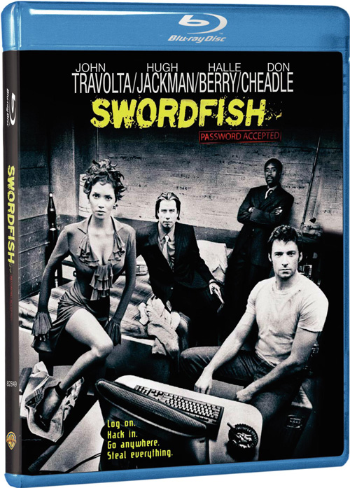 "Пароль ""Рыба-меч"" / Swordfish (2001) Blu-Ray"